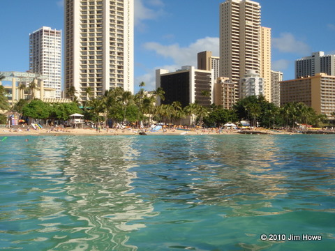 Waikiki At Kuhio Beach Park Is Also Known As