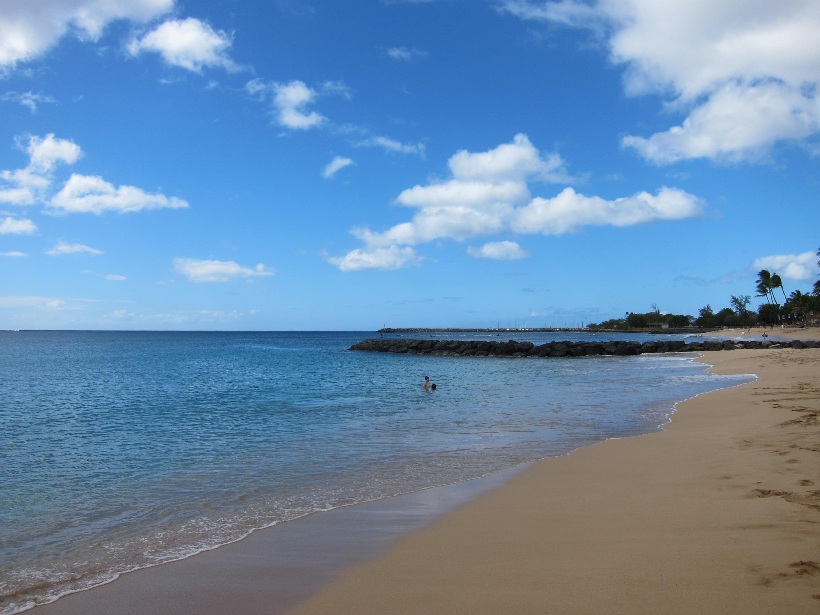 """Oahu Waianae (West) Shore<br/>Photo <a href=""""//creativecommons.org/licences/by-sa/3.0/"""" class=""""cc-small"""" target=""""_blank""""><img typeof=""""foaf:Image"""" class=""""image-style-none"""" src=""""https://i.creativecommons.org/l/by-sa/3.0/80x15.png"""" width=""""80px"""" height=""""15px"""" alt=""""Creative Commons Licence"""" /></a> <a href=""""https://www.flickr.com/photos/63669472@N00/8303353052"""">Eugene Kim</a>"""